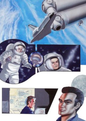 The Thunderbirds Story - Jeff in Space