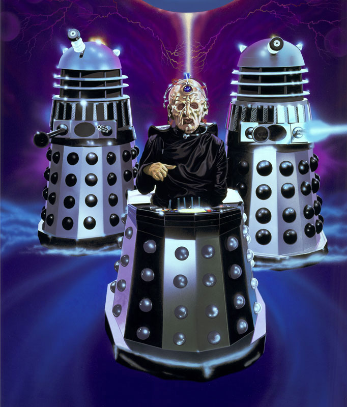 Image result for the Daleks and Davros