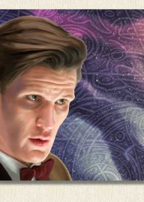The Eleventh Doctor~Matt Smith Aluminium Print