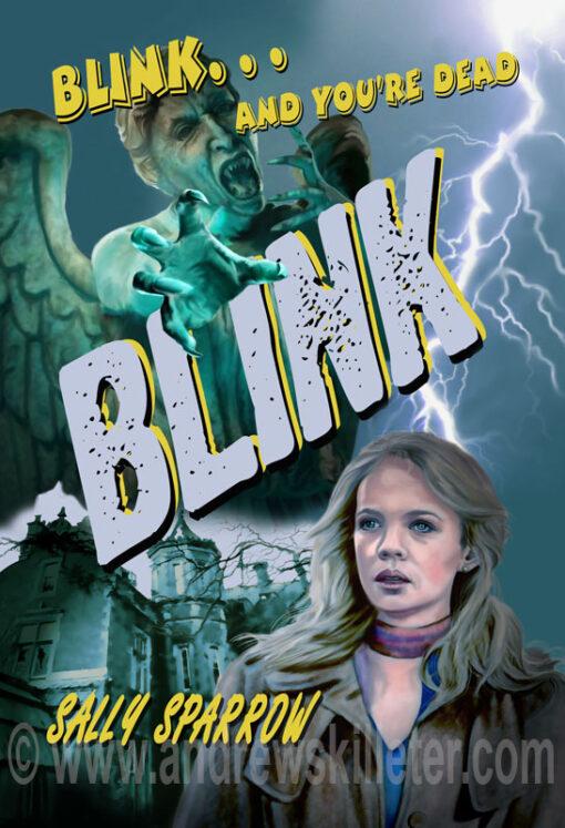 Blink Retro Style Poster