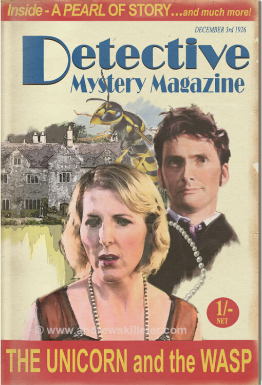 Detective Mystery Magazine : The Unicorn and the Wasp